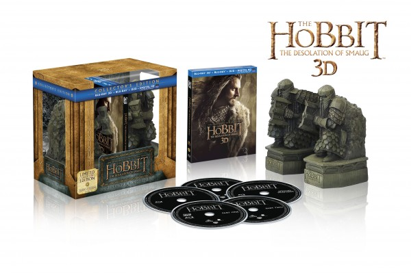 El Hobbit 2 DVD Blu-Ray