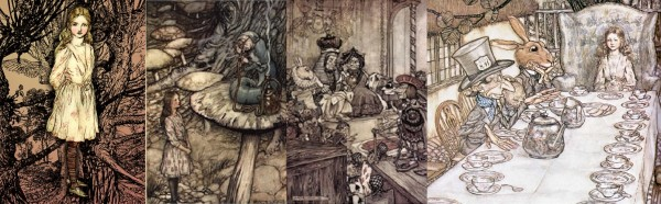 AR Alice in Wonderland